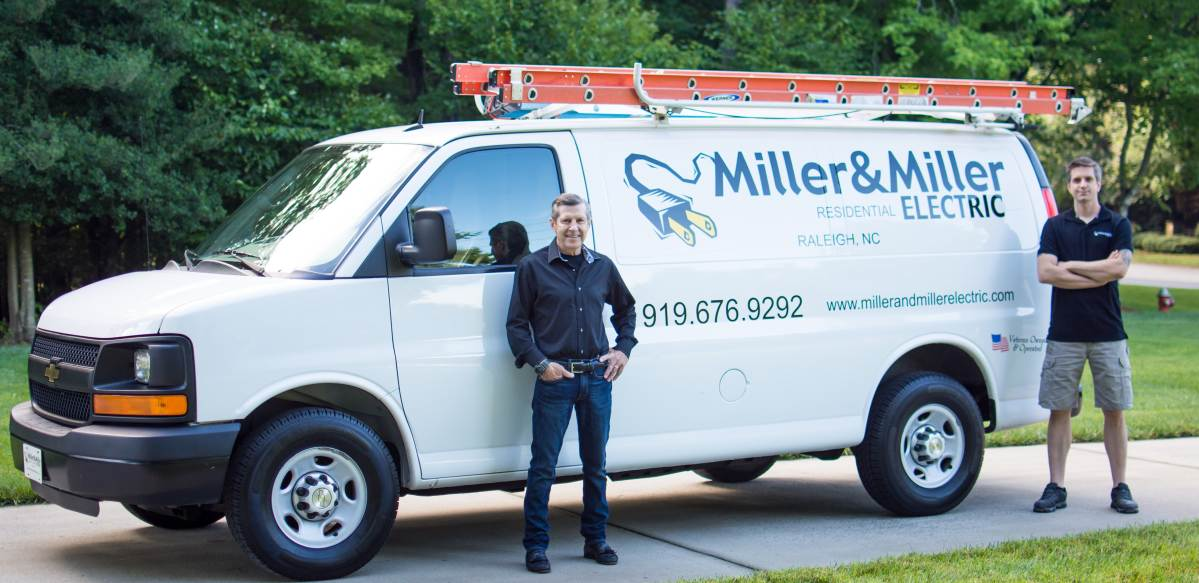 Miller and Miller electric service team