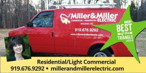 Miller and Miller Electric commercial vehicle