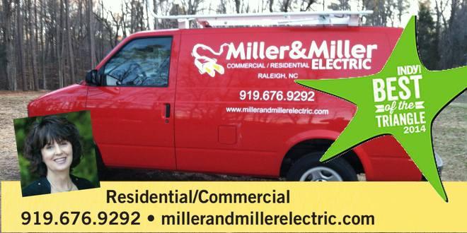 Miller and Miller Electric Service Van