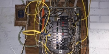 Panel badly wired by homeowner