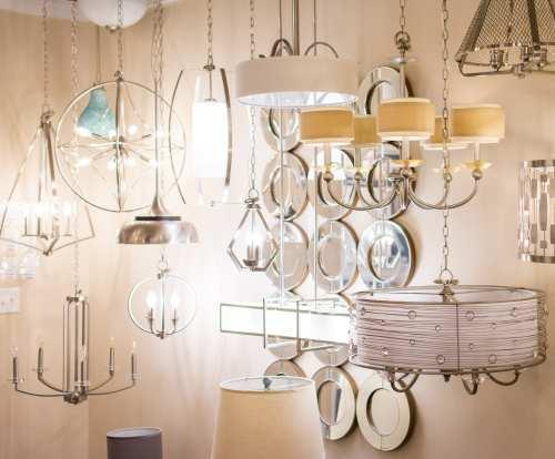 Upscale lighting fixtures